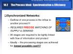 10 2 the process ideal synchronization efficiency10