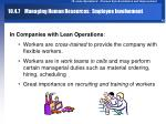 10 4 7 managing human resources employee involvement42