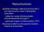 rectumtumoren