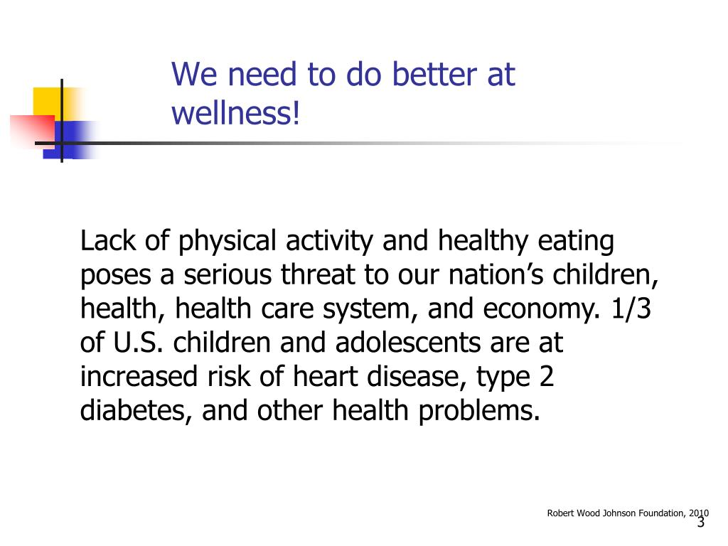 We need to do better at wellness!
