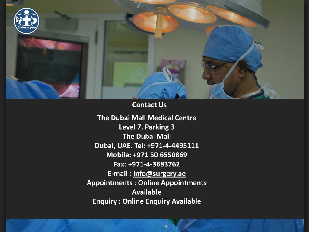 The Dubai Mall Medical Centre
