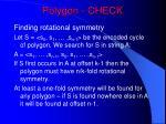 polygon check
