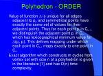 polyhedron order34