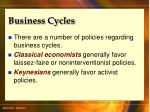 business cycles14