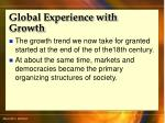 global experience with growth10