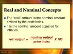 real and nominal concepts71