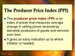 the producer price index ppi