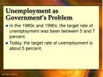 unemployment as government s problem35