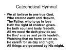 catechetical hymnal