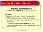 healthy kids move manual