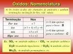 xidos nomenclatura14