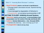 slide 15 arousing brain structures continues