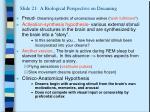 slide 21 a biological perspective on dreaming