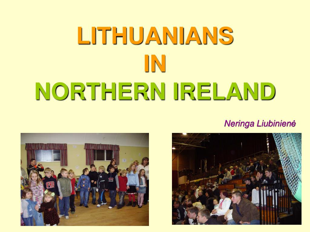 lithuanians in northern ireland l.