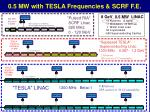 0 5 mw with tesla frequencies scrf f e