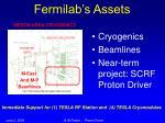 fermilab s assets