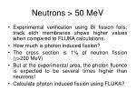neutrons 50 mev