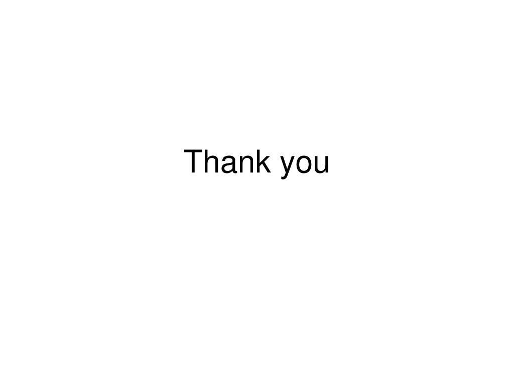 Thank you