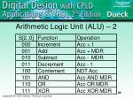 arithmetic logic unit alu 2