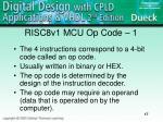 risc8v1 mcu op code 1