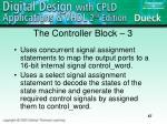 the controller block 3