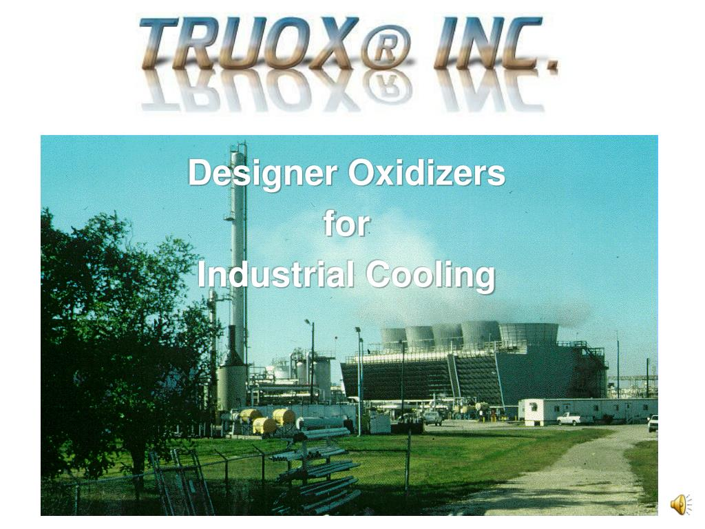 designer oxidizers for industrial cooling l.