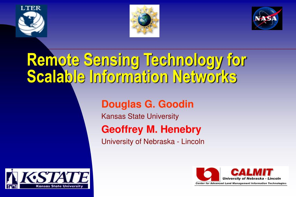 remote sensing technology for scalable information networks l.