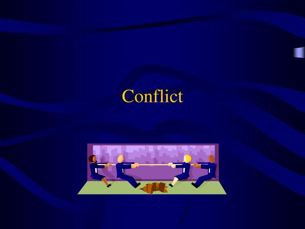 conflict l.