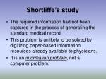 shortliffe s study35