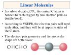 linear molecules