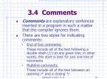 3 4 comments