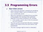 3 5 programming errors58
