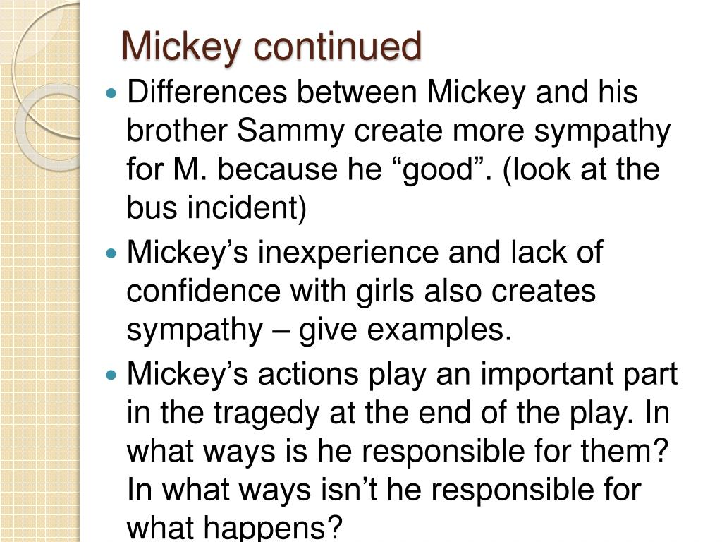 Mickey continued
