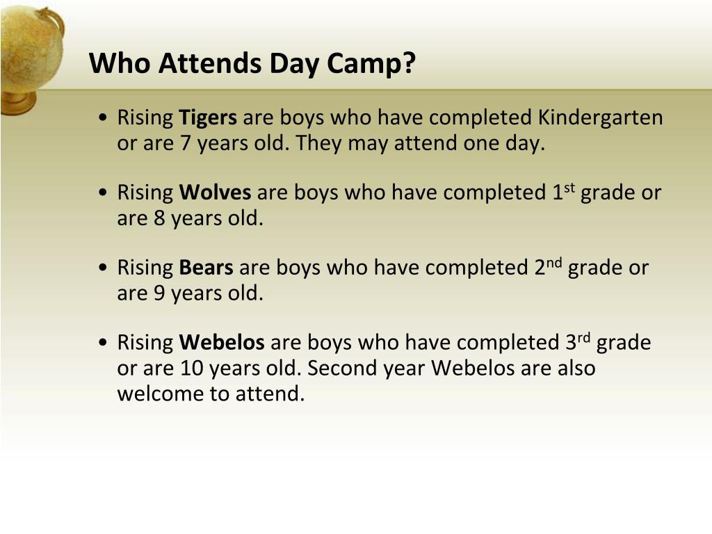 Who Attends Day Camp?