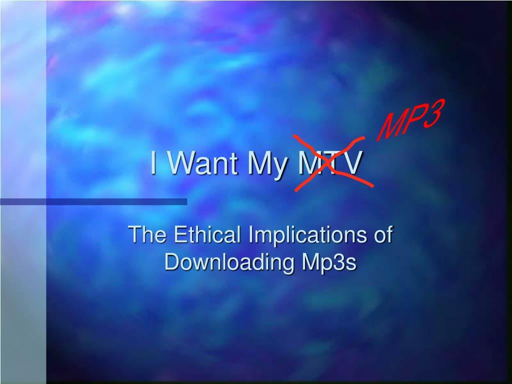 i want my mtv l.