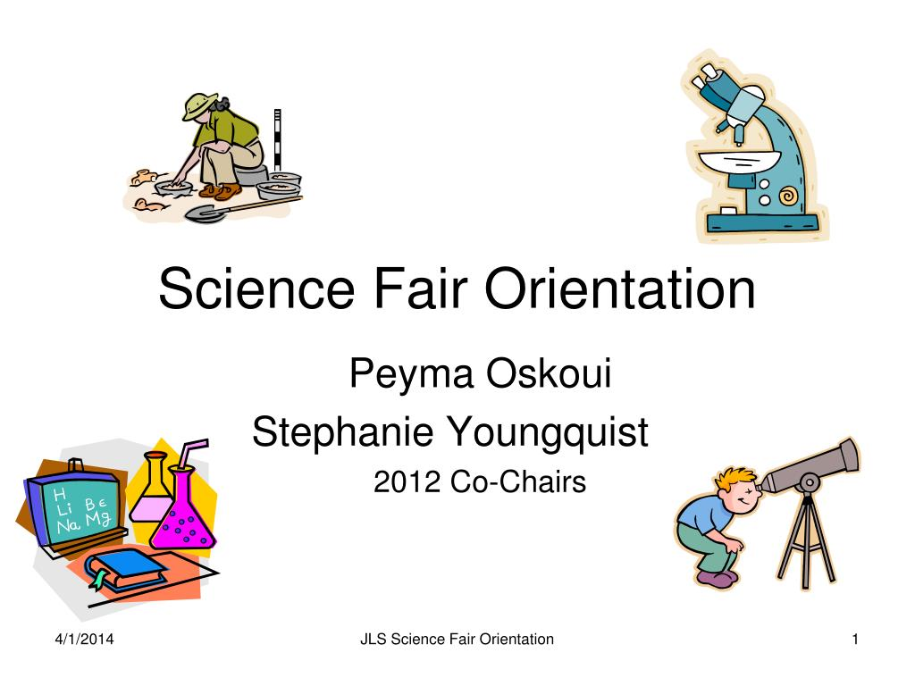 science fair orientation l.