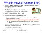 what is the jls science fair