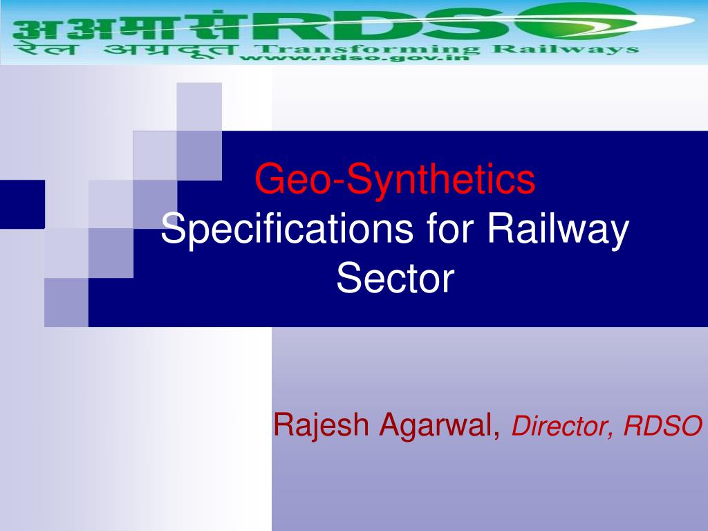 geo synthetics specifications for railway sector l.