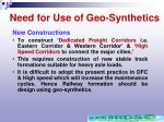 need for use of geo synthetics50