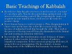 basic teachings of kabbalah