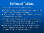 reformed judaism