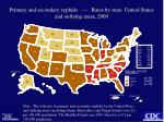 primary and secondary syphilis rates by state united states and outlying areas 2000