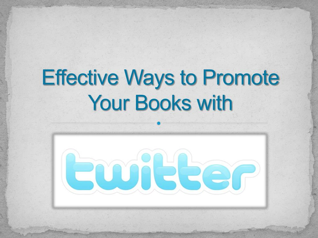 effective ways to promote your books with l.