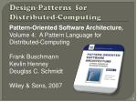 design patterns for distributed computing3
