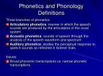 phonetics and phonology definitions49