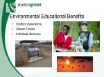 environmental educational benefits