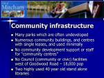 community infrastructure9