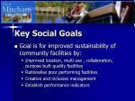 key social goals13
