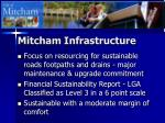 mitcham infrastructure