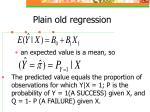plain old regression19